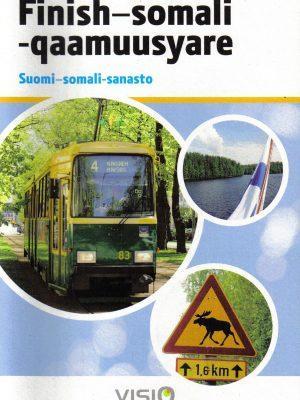 Suomi-.somali -sanaston kansikuva.