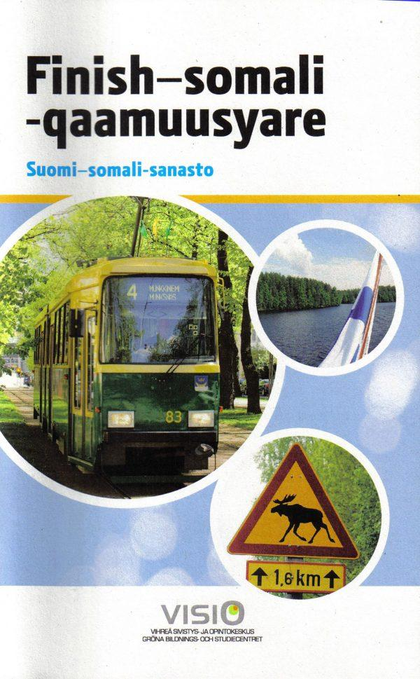 Suomi-somali -sanaston kansikuva.