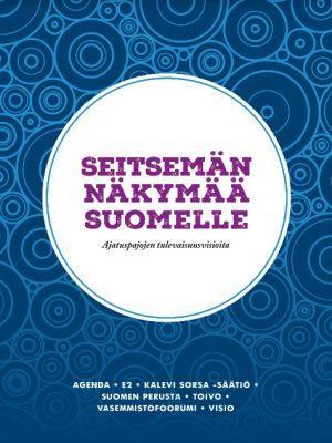 Seitsemän näkymää Suomelle -kirjan kansikuva.