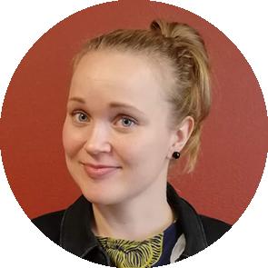Hankesuunnittelija Adele Halttunen.
